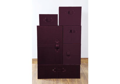 Wardrobe Style Storage Box Set, ST 132, wardrobe style storage box set