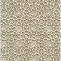 Elementto Floral Design Modern 3D Wallpaper for Walls - td30101, grey