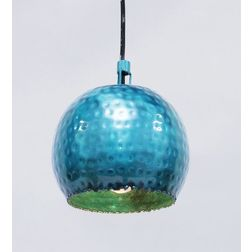 Aasra Decor Green Ball Pendant Lamp Lighting Ceiling, green