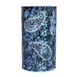 Aasra Decor Blue Butti Lamp Lighting Table Lamp, blue