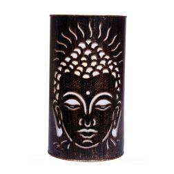 Aasra Decor Bronze Budha Lamp Lighting Table Lamp, multicolor