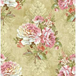 Elementto Wallpapers Floral Design Home Wallpaper For Walls ew70301, beige