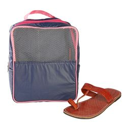 Gym (Travel) Shoe Bag,  navy blue