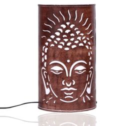 Aasra Decor Budha Lamp Lighting Table Lamp, brown
