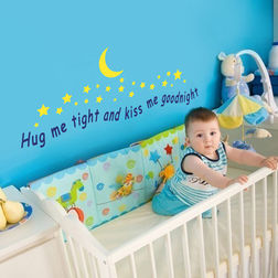 Wall Stickers For Kids Design Kiss Me Goodnight WDV06014