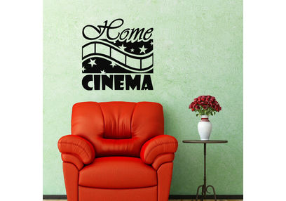 Kakshyaachitra Home Cinema Wall Stickers For Bedroom And Living Room, 48 48 inches