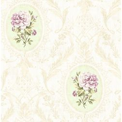 Elementto Wallpapers Floral Design Home Wallpaper For Walls, lt. brown1