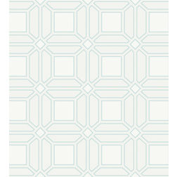 Elementto Wallpapers Geometric Design Home Wallpaper For Walls, light blue