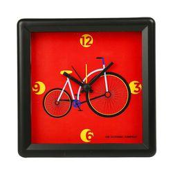 The Elephant Company Joyride Colourful Desginer Alarm Clocks, red