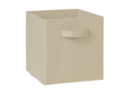 Storage Cube Box,  cream cube