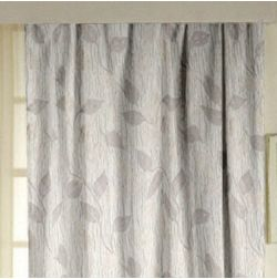 Ramkhao Floral Readymade Curtain - 43, long door, beige