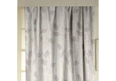 Ramkhao Floral Readymade Curtain - 43, long door, beige
