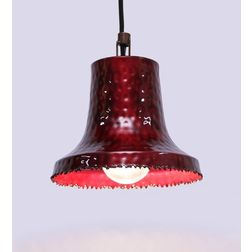 Aasra Decor Red Capotain Pendant Lamp Lighting Ceiling, red
