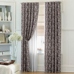 Bang Classic Readymade Curtain - 10832, long door, grey