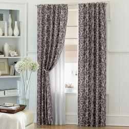 Bang Classic Readymade Curtain - 10832, door, grey