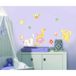 Kids Wall Stickers Home Decor Line Animal Farm - 10101