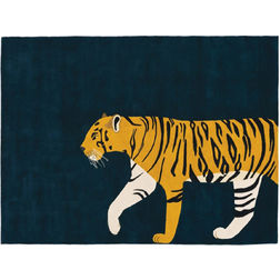 Floor Carpet and Rugs Hand Tufted, AC Concept Kids Navy Carpets Online - KD-67-L, 3ftx5ft, navy