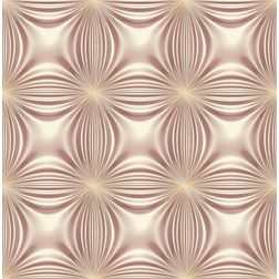 Elementto Floral Design Modern 3D Wallpaper for Walls - td32601, maroon