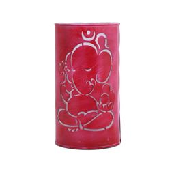 Aasra Decor Lord Ganesha Lighting Table Lamp, pink