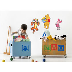 Children Wall Stickers Decofun Pooh & Friends 3 Foam Elements - 23621