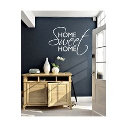 Kakshyaachitra Home Sweet Home Wall Stickers For Bedroom And Living Room, 48 32 inches