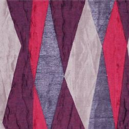 Astro Abstract Curtain Fabric - 4, red, fabric