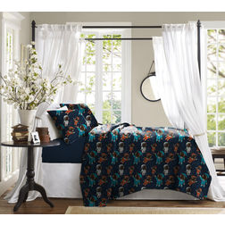Bed in a bag BB28, double, navy blue