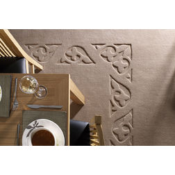 Floor Carpet and Rugs Hand Tufted, AC Concept Geometric Brown Carpets Online -B2-32-L, 3ftx5ft, brown