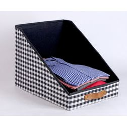 Shirt Organizer,  black & white