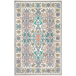 Floor Carpet and Rugs Hand Tufted, The Rug Concept Multi Carpets Online Tbilisi 6049-L, multi, 3ft x 5ft