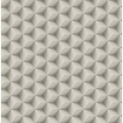 Elementto Geometric Design Modern 3D Wallpaper for Walls - td30600, beige