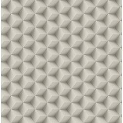 Elementto Geometric Design Modern 3D Wallpaper for Walls - td30600, beige