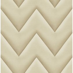 Elementto Creative Abstract Design Modern 3D Wallpaper for Walls - td32400, beige