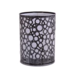 Aasra Decor Circles Pattern Night Lamp Lighting Night Lamps, silver