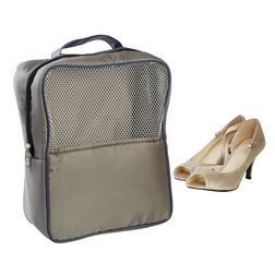 Gym (Travel) Shoe Bag,  grey
