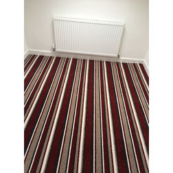 Floor Carpet and Rugs Hand Tufted, AC Concept Geometric Red Carpets Online -B1-08-L, 3ftx5ft, red