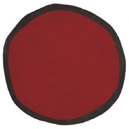 Floor Carpet and Rugs Hand Tufted AC ConceptAbstract Red Carpets Online - SC-65-L, 3ftx5ft, red