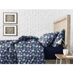 Bed in a bag BB1, double, navy blue