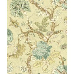 Elementto Wallpapers Sea Green Design Home Wallpaper For Walls ew70704-3, light yellow
