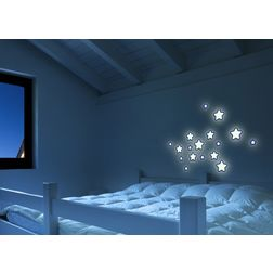 Wall Sticker For Kids Home Decor Line Stars - 54506