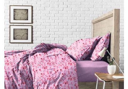 Bed in a bag BB6, double, baby pink