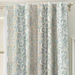 Bang Classic Readymade Curtain - SC10312, blue, door