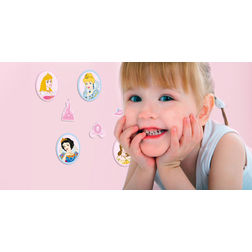 Wall Stickers For Kids Decofun Princess 24 Mini Foam Element - 23812