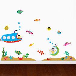 Wall Stickers For Kids Design Underwater Voyage WD009