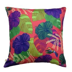 The Elephant Company Floral Marigold Designer Cushion Covers, purple