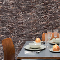 Elementto Wallpapers Damask Design Home Wallpapers For Walls, black