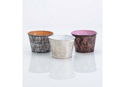 Aasra Decor Leaf Candle Votive DecorVotives, multicolour