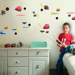 Wall Stickers For Kids Decofun Cars Small - 70003