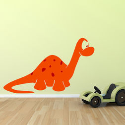 Wall Stickers For Kids Chipakk Kids Dinosaur Orange AN4BM