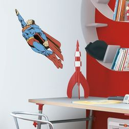 Children Wall Stickers Decofun Superman Foam decor - 23532
